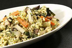 Ebly mit Gemüse