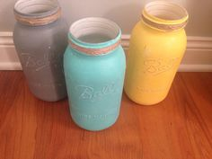 A personal favorite from my Etsy shop https://www.etsy.com/listing/249900962/chalk-paint-shabby-chic-mason-ball-jars