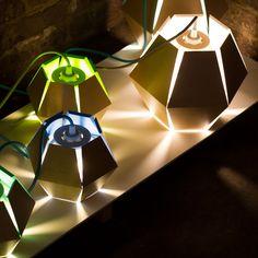 Capside lamp by Loïc Bard