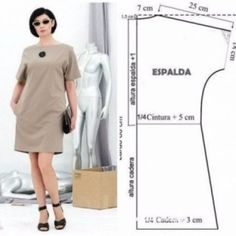 ideas for womens clothing fashion sewing patterns Dress Sewing Patterns, Sewing Patterns Free, Free Sewing, Clothing Patterns, Sewing Tutorials, Sewing Projects, Sewing Ideas, Diy Projects, Skirt Patterns