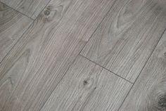 Kronotex Atlas oak anthracite 12mm V groove AC5 laminate flooring