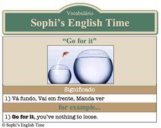 Vocabulário: Go for it