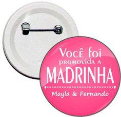 Boton Casamento - Promovido a Madrinha