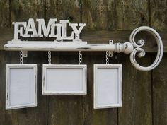Upcycled Metal Photo Hanger/home Decor/house Furnishings/family Keys/wall…