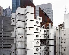 Nakagin Capsule Tower By Kisho Kurokawa Building Design Micro Apartment Anese