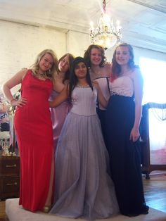 My Girls....they work for me at Wedding Dress Me.