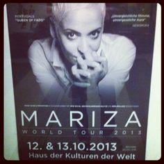 Mariza live im Berlin 12.10.2013  http://karten.fm/tag/mariza/