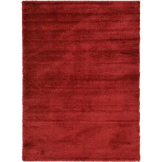 Found it at Wayfair - Luxe Solo Red Area Rug