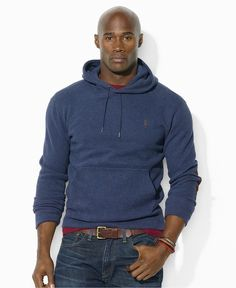 Polo Ralph Lauren Big and Tall Hoodie, Pullover Hoodie - Mens Shop All Polo Ralph Lauren - Macy's