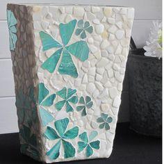 Vase in Mosaic by mosaicsbyfosic on Handmade Australia