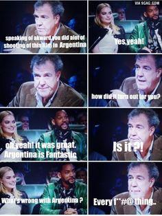 Jeremy Clarkson everyone..