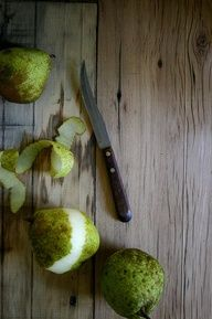 peeling pears by beth kirby {local milk}