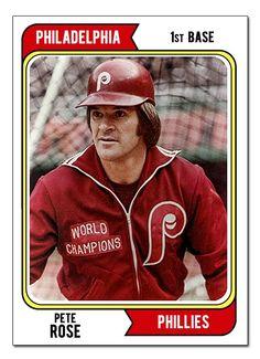 Pete Rose Philadelphia Phillies