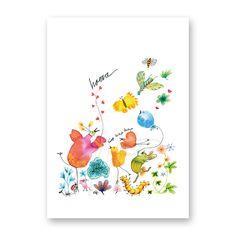 'Hurray' Greetingcard