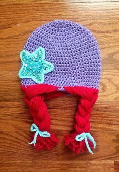 Ariel crochet hat