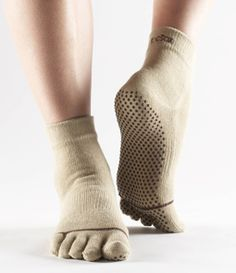 TOE SOCKS! My biggest seller in the studio boutique. Have lots of colors and sizes!