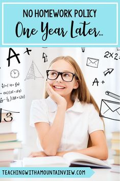 Thinking about implementing a 'no homework' policy in your classroom?  Check out my reflections after using this policy in #upperelementary for a whole year.  Great tips and tricks for a new teacher (or a new grade).  #fourthgrade #fifthgrade