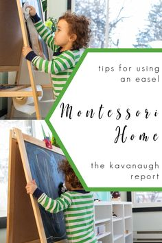 Using an art easel in your Montessori home plus a few options to consider The Effective Pictures We Offer You About Montessori tablett A quality picture can tell you many things. You can find the most Preschool Activities At Home, Sensory Activities Toddlers, Preschool Letters, Montessori Activities, Art Spaces, Play Spaces, Learning Spaces, Montessori Playroom, Art Easel