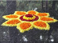Easy Rangoli Designs Videos, Easy Rangoli Designs Diwali, Rangoli Designs Flower, Rangoli Border Designs, Rangoli Ideas, Colorful Rangoli Designs, Rangoli Designs Images, Rangoli Photos, Diwali Diy