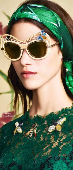 Dolce and Gabbana Summer-2016 Banana Leaf Print Collection Details