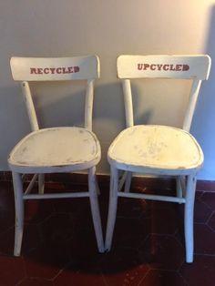 sedie riciclate