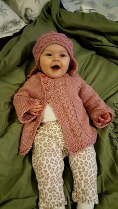 Olive You Baby is a classic cardigan for any boy or girl.