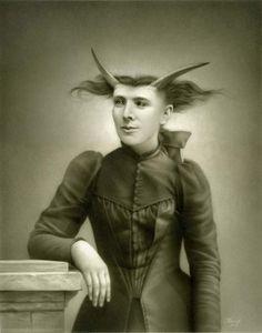Victorian Era Freaks Take Formal Photos