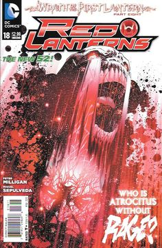 Red Lanterns # 18 DC Comics The New 52!