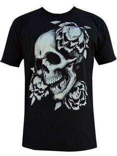 Tiki Skull rockabilly 7 cm tall goth cute Banned Apparel Iron On Patch