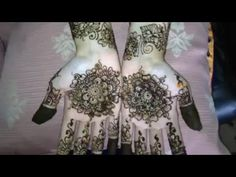 Floral Bridal Henna Mehndi Designs 2016