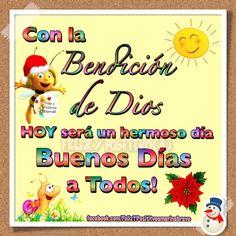 Buenos Días a Todos!