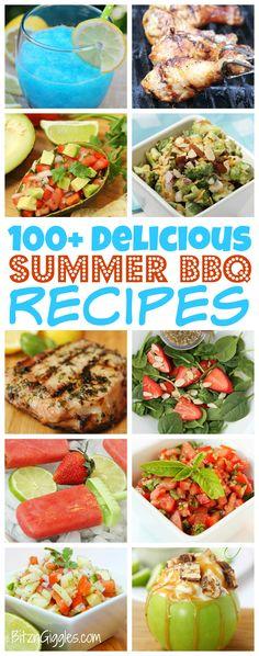 100+ Delicious BBQ Recipes!