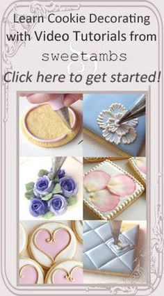 These are some of the cookie decorating supplies that I use most often. All of these products are available on my recommended products page.Cookie Cutters This 11 Piece Plain Round Cutter Set is one that came in my tool kit when I attended the ba