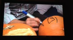 Mark Ford Carving Pumpkins on Thats Solent TV, 28th October 2015