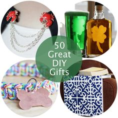 50 Great DIY Gift Ideas from Hands Occupied