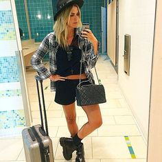 Julia Faria @juliafaria Instagram photos | Websta Airport Look, Spring Outfits, Ootd, Street Style, Instagram Posts, Photos, Fashion, Look Do Dia, Little Girls