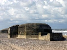 German bunker at Søndervig in Denmark