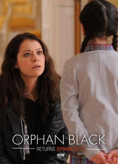 Orphan Black returns Spring 2015 to BBC America! Prepare yourself for Season Orphan Black, Black Love, Back To Black, Black Tv Shows, Sci Fi Series, Tv Series, Tatiana Maslany, Broadchurch, Black Actors