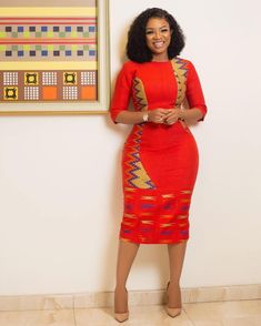 Elegant kente styles are styles to choose when you think about the style to sew for your kente. Find elegant kente styles on african fashion and lifestyles Ankara Short Gown Styles, Trendy Ankara Styles, Kente Styles, Ankara Gowns, Dress Styles, Latest African Fashion Dresses, African Print Dresses, African Print Fashion, African Dress