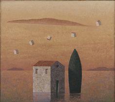 Matthias Brandes, Solitudine 3 #contemporary #art #painting