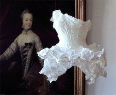 Paper Dresses by Violise Lunn (GALLERY)