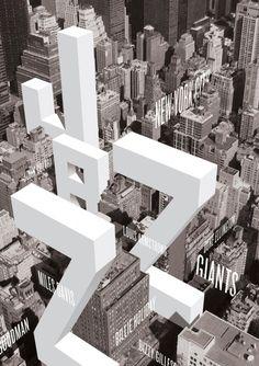 pinterest.com/fra411 #typographic - Designer: Mike Barker