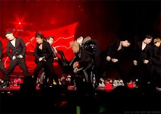VIXX SBS Gayo Daejun  | Tumblr | I just wanna know how many times Ravi landed on N while practicing this