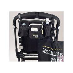 Bolso organizador de la colección Urban de Walking Mum para silla de paseo muy ligero.