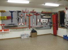 Rc Plane Storage.  Being an RC wife means I need to think about these things for husband.