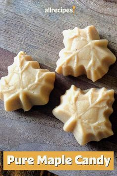 This pure maple candy is a quick and easy candy recipe! This simple, homemade candy is made using just two ingredients: pure maple syrup and walnuts. You will love baking this creamy, fudge candy for a fall snack or dessert at Thanksgiving!