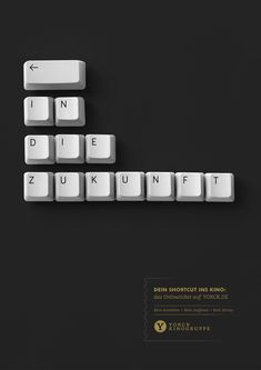 Feierabend, Abendkasse by Die Yorck Kinogruppe — Jonas Heidenreich and Nils Tscharnke Teamed up for this Humorous Take on Classic Blockbusters Layout Design, Ad Design, Banner Design, Print Design, Creative Advertising, Print Advertising, Print Ads, Recruitment Advertising, Free Banner Templates