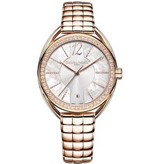 Chaumet Liens Lumière 33mm automatic watch in gold- Chaumet  brings its jewellery credentials to the Liens watch collection with the Liens Lumière, which glows with the light of brilliant-cut diamonds, mother-of-pearl and the warmth of pink gold. The 33mm case and the bracelet of this model are crafted in pink gold, and the movement is a top-quality Swiss automatic.