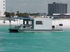 8' Wide Pontoon Houseboat Plans | Houseboats