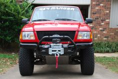 ford ranger winch - Google Search